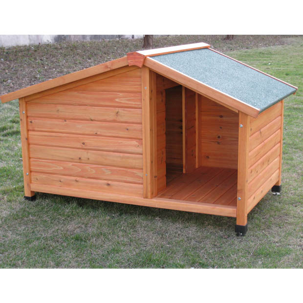 Caseta madera cottage perros casetas caseta madera for Casetas para perros bricomart