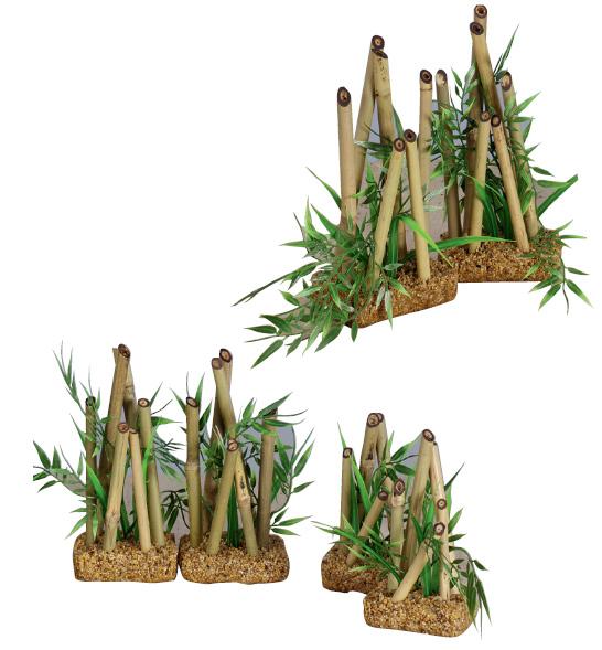 Decoraci n bamb peces decoraci n para acuarios for Bambu seco para decoracion