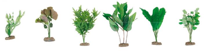 Planta de pl stico peces decoraci n para acuarios - Plantas de plastico ikea ...