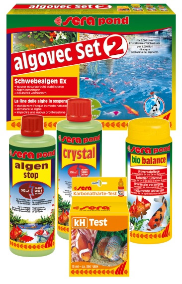 Sera pond algovec kit 2 exterminador de algas flotantes for Antialgas para estanques con peces